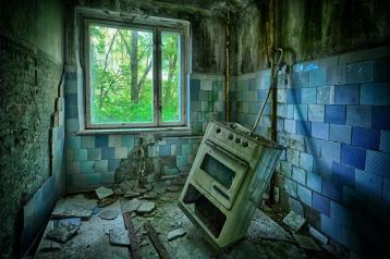 Apartment stove